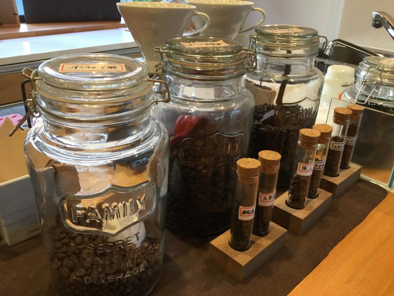 Select  Coffee  Beans!